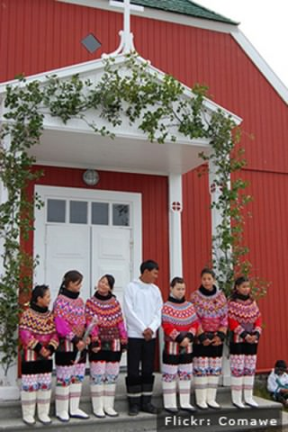 Konfirmation i Grønland