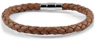 Armbånd, brunt læder