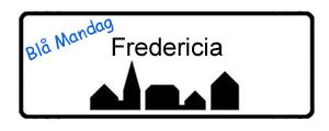 Blå Mandag Fredericia, byskilt