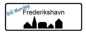 Blå Mandag Frederikshavn, byskilt