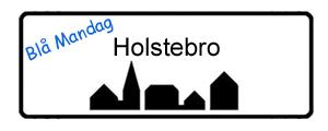 Blå Mandag Holstebro, byskilt