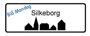 Blå Mandag Silkeborg, byskilt
