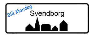 Blå Mandag Svendborg, byskilt