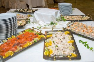 Buffet, konfirmationsmiddag