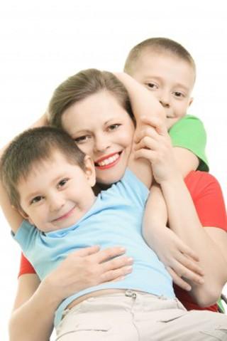 Mors dag, mor med børn